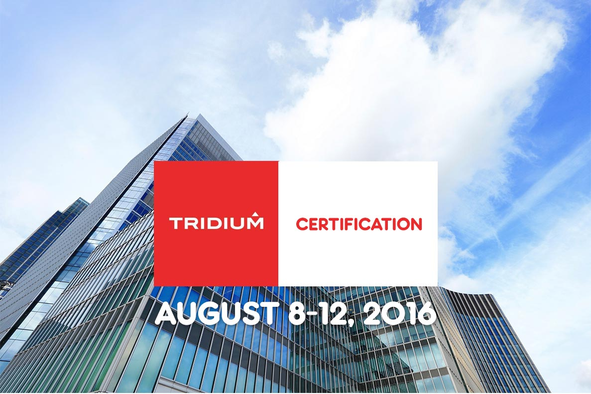 tridium certification