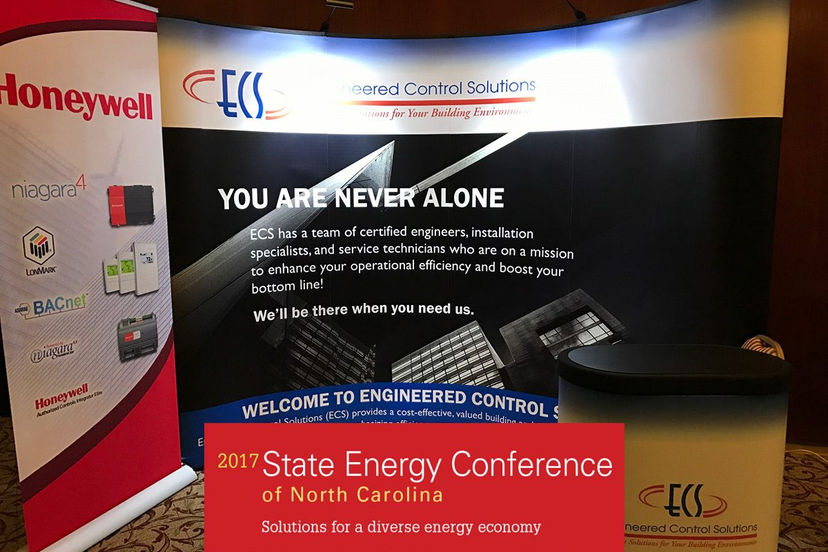 Engineered Control Solutions Booth at the Energy Conference